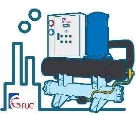 冰水冷卻機系統